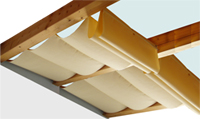 sonnenschutz mit sonnensegel und faltsonnensegel f r pergola und terrassen berdachung. Black Bedroom Furniture Sets. Home Design Ideas